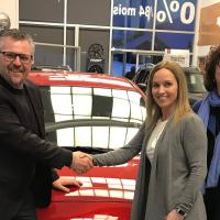 Gagnant lotoRebelle NISSAN Sorel tracy et cie 2019