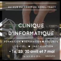 clinique informatique Sorel tracy et cie